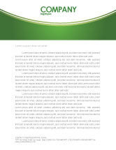 Construction: Green District Letterhead Template #04147