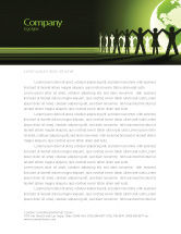 Global: World Unity Letterhead Template #04151