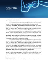Business Concepts: Arrow Point Letterhead Template #04157