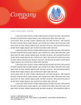 Consulting: Target Audience Letterhead Template #04187