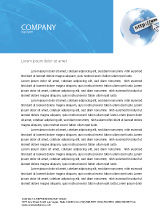 Telecommunication: Site Address Letterhead Template #04201