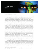 Global: South America Letterhead Template #04210