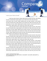 Nature & Environment: Antarctica Letterhead Template #04240