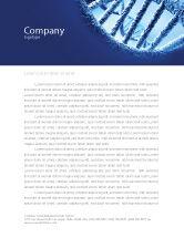 Medical: DNA Molecular Structure Letterhead Template #04245