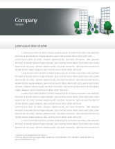 Construction: Plan Of Gardening District Letterhead Template #04248