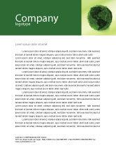 Global: Green Land Letterhead Template #04269