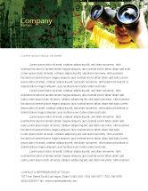 Education & Training: Scout Letterhead Template #04310