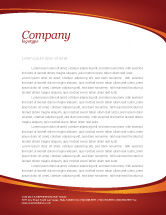 Telecommunication: Wireless Phones Letterhead Template #04312