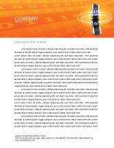 Telecommunication: Mobile Service Provider Letterhead Template #04320