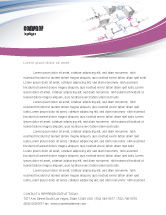 Telecommunication: Multicomputer System Letterhead Template #04331