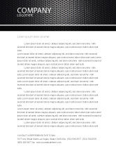Abstract/Textures: Black Grid Letterhead Template #04358