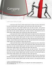 Business Concepts: Resistance Letterhead Template #04366