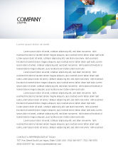 Business: City Scenery Letterhead Template #04370
