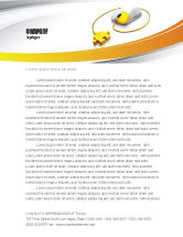Technology, Science & Computers: Computer Mouse Connection Letterhead Template #04372