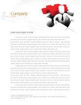 Business Concepts: Business Crisis Solution Letterhead Template #04375