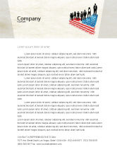 America: Social Hierarchy Letterhead Template #04393