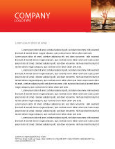 Consulting: Drowning Letterhead Template #04407