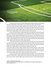 Sports: Football Duel Letterhead Template #04410