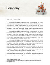 Construction: Castle Letterhead Template #04419