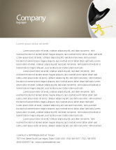 Consulting: Slip Letterhead Template #04422