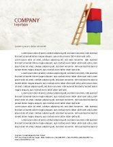 Education & Training: Ladder Letterhead Template #04442