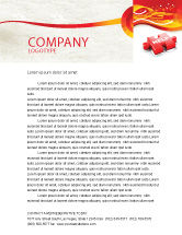 Consulting: Help Puzzle Letterhead Template #04470