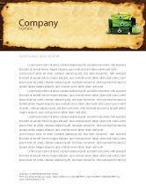 Careers/Industry: Travel Tour Letterhead Template #04473