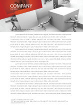 Consulting: Different Angle Letterhead Template #04483