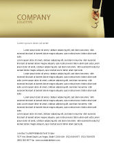 Legal: Handcuffs Letterhead Template #04484