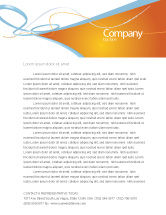 Abstract/Textures: Abstract Stripes Letterhead Template #04492