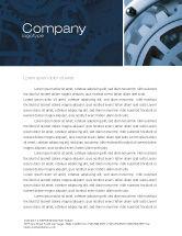 Utilities/Industrial: Constituent Letterhead Template #04494