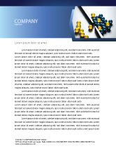 Business Concepts: Filtering Letterhead Template #04499