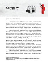 Consulting: コマンダー - レターヘッドテンプレート #04506