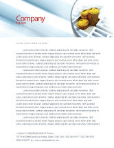 Financial/Accounting: Making Money Letterhead Template #04511