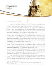 Education & Training: Leonardo Da Vinci Letterhead Template #04517