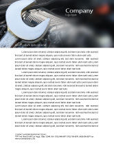 Utilities/Industrial: Car Repair Letterhead Template #04522