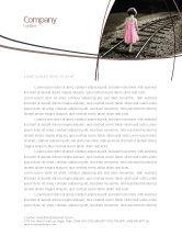 Religious/Spiritual: Suïcidaal Briefpapier Template #04551