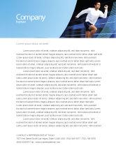 Sports: Endeavour Letterhead Template #04561