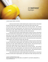 Construction: Foreman Letterhead Template #04611