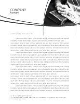 Religious/Spiritual: Good Book Letterhead Template #04645