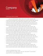 Financial/Accounting: Economic Indicator Letterhead Template #04671