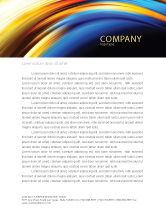 Abstract/Textures: Abstract Arc Letterhead Template #04674