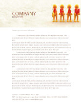 Consulting: Team Player Letterhead Template #04682