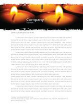 Religious/Spiritual: Religious Service Letterhead Template #04743
