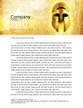 Education & Training: Antiquity Letterhead Template #04760
