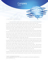 Technology, Science & Computers: Artificial Mind Letterhead Template #04792