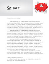 Business Concepts: Working Gear Letterhead Template #04816