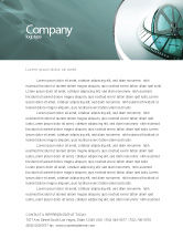 Careers/Industry: Film Reel Letterhead Template #04827