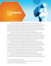 Business Concepts: Business Professional Letterhead Template #04831