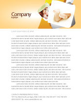 Education & Training: Little Feet Letterhead Template #04837